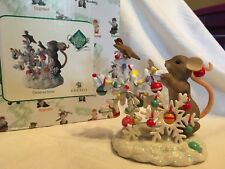 "Charming Tails ""Christmas Snow"" Signed By Dean Griff Nib"