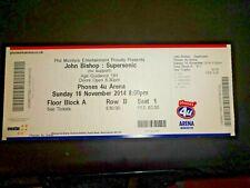 John Bishop Supersonic Tour Used Concert Ticket Phones 4u Arena Manchester 2014