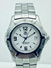 Estate ~ Tag Heuer Professional Exclusive 200m White Face Mens 39mm Watch WN1111