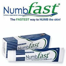 30g NUMB FAST® PainLess Numbing Cream Painless Tattoo Piercing Waxing Laser Dr