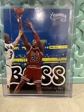 1998-99 SKYBOX THUNDER #7 MICHAEL JORDAN BOSS EMBOSSED INSERT CHICAGO BULLS!