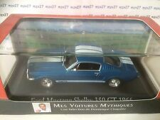 VOITURE FORD MUSTANG SHELBY 350 GT 1966 1/43 EME MES VOITURES MYTHIQUES CHAPATTE