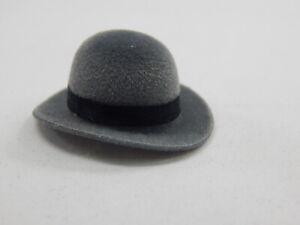 Heidi Ott  Dollhouse Miniature 1:12 Scale Men's Bolo Bowler Hat  #XZ780-GB