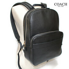 NWT Coach Hamilton F72082 Backpack in Pebble Leather Black MSRP $ $ 595.00