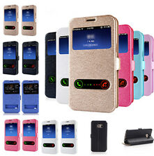 Flip Magnetic Leather Wallet Case Cover for Samsung Galaxy Note 3/4/5/S5/6 Edge