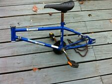 """Vintage Mongoose Mitygoose 1989 Frame 16"""" With Crank And Pedals"""