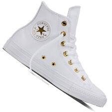 Converse Chuck Taylor All Star Damen-Sneaker Leder Kunstleder Turnschuhe Chucks