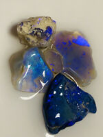 Australian Rough Opal Select Cutters bright beautiful Colour L/R 34ct #750 VIDEO
