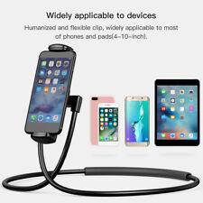 For 4-10'' Necklace Lazy Bracket Neck Hanging Phone Tablet Holder Baseus B4H