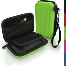 Verde Funda Rígida Cubierta De Bolsa Para Portátil Disco Duro Externo 160 X 93,5 x 21,5 mm