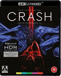 CRASH (1996) 4K UHD BLU-RAY