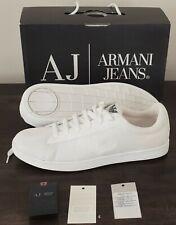 Armani Jeans Herrenschuhe, ARMANI SNEAKERS, Shoes, EU 43 NEU mit Karton, Weiß