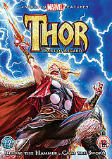 Thor - Tales Of Asgard (DVD, 2011) Brand New And Factory Sealed Free Post