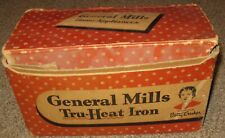General Mills New Heat Iron, 1946, New Old Stock in Box, Complete