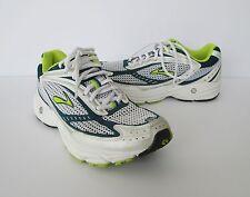 Brooks Womens Navy Green White Radius R7 Cushion MoGo Athletic Sneakers Shoes 8