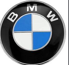 Front Hood & Rear Trunk 82mm FOR  BMW Badge Emblem Logo 51148132375 E46 E36