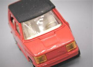 CORGI TOYS Modellauto Whizz Wheels Osi daf City Car Mazak rot 1:43 #A6
