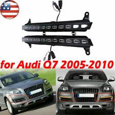 For Audi Q7 2005-2010 Pair 22 LED DRL Driving Daytime Running Day Fog Lamp Light