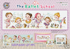 """""""The Ballet School"""" Counted Cross stitch pattern leaflet. SODA SO-G75"""