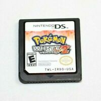 Pokemon White Version 2 Nintendo DS 3DS AUTHENTIC & Tested! Great Condition RARE