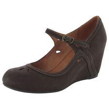 Wedge Leather Mary Janes Medium Width (B, M) Heels for Women