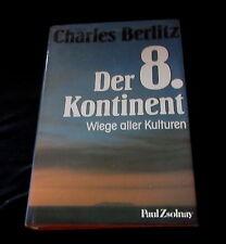 DER 8. KONTINENT - Wiege aller Kulturen - Atlantis Buch von Charles Berlitz