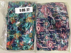2 Pair Disney One Size LuLaRoe Leggings D OS 27