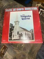 THE MAGNOLIA QUARTET Safe In God's Shelter vinyl LP Houma Louisiana