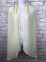 Ivory Scarf Oblong Women's Fashion Style Lady Shawl 78x13""