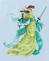 MIRABILIA Counted Cross Stitch Chart LADY JUSTICE - NORA CORBETT