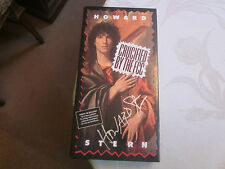HOWARD STERN SIGNED/AUTOGRAPHED CRUCIFIED BY THE FCC CD SET/BOOKLET