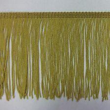Dorado Con Cuentas fringe//trim sewing//costume//crafts Crema Corsetry