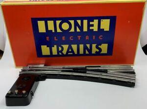 Lionel 6-65165 O O72 Right Hand Remote Control Switch Turnout LN/Box