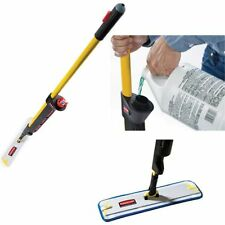 More details for rubbermaid pulse mop kit microfibre cleaning mopping floor office microfiber set