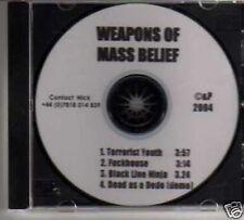 (125M) Weapons Of Mass Belief,Terrorist Youth - DJ CD