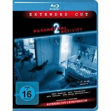 Paranormal Activity 2 - Extended Cut + Kinoversion / Blu Ray Topzustand