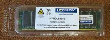 Hypertec 1GB (1x1GB Module) Dell Equivalent RAM HYMDL9301G PC3200 DIMM NEW