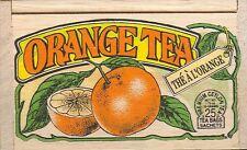 Orange Tea - 25 Bags - Decorative Wooden Box