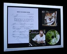 AVRIL LAVIGNE Wish You Were Here LTD Nod CD FRAMED DISPLAY+EXPRESS GLOBAL SHIP!!