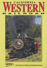 California Western Railroad DVD Skunk Train Pentrex NEW!