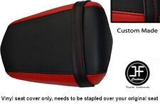 DARK RED AND BLACK VINYL CUSTOM FOR YAMAHA 600 YZF R6 REAR SEAT COVER ONLY 03-05