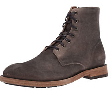 NIB men's Frye Bowery Lace Up  In Faded Black 80338