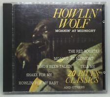Moanin' At Midnight * by Howlin' Wolf (CD, 1988, Blue City) (30) Like New