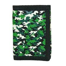 New Ctm Kid's Camouflage Print Trifold Wallet