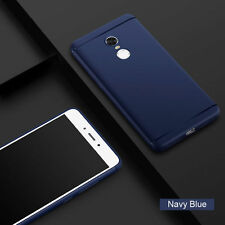 Rubberised Slim Soft Silicone Back Cover For XIAOMI MI REDMI NOTE 4 BlUE