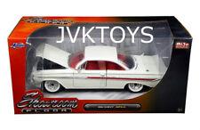 1961 Chevrolet Impala White Showroom Floor 1/24 Diecast Car Model By Jada 98905