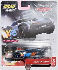 DISNEY PIXAR CARS DRAG RACING JACKSON STORM XRS