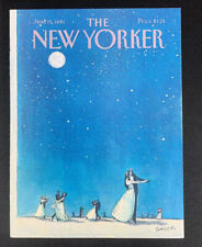 COVER ONLY ~ The New Yorker Magazine, June 15, 1981 ~ Charles Saxon