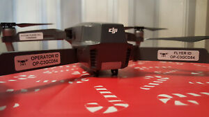 15 Drone Operator ID Stickers, Flyer , Battery, If Lost Labels, Identification