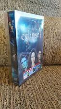 TWILIGHT SAGA ECLIPSE 3 DVD ENGLISH ITALIAN EDITION + 6 POST CARDS + BAG